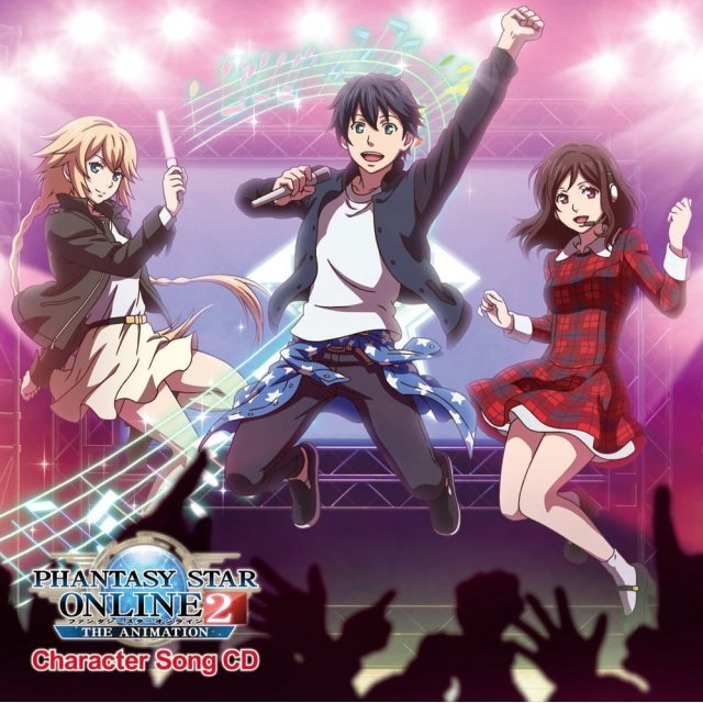 Fantasy Star Online 2 The Animation Character Song Cd
