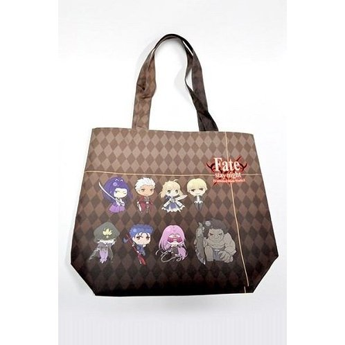 Fate/Stay Night Unlimited Blade Works SD Character Water-Repellent Tote Bag: Shiro