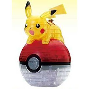 Jigsaw Puzzle 3D: Pikachu and Monster Ball