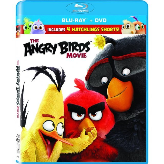 The Angry Birds Movie [Blu-ray+DVD]
