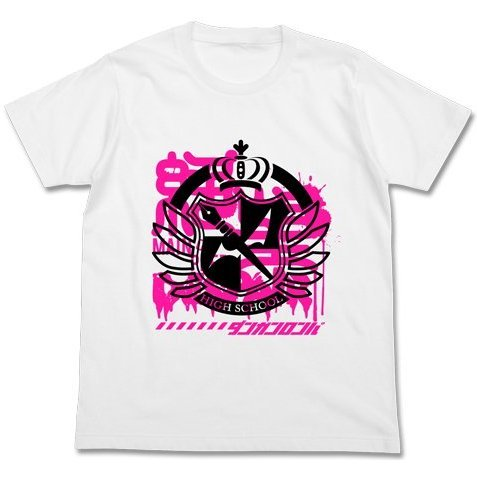 Danganronpa 3 The End of Kibougamine Gakuen T-shirt White: Despair of Kibogamine Gakuen (L Size)