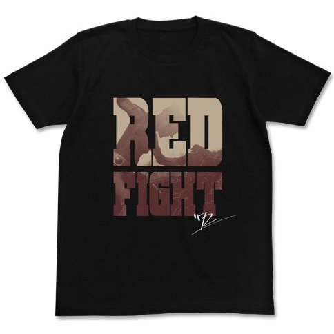 Redman Red Fight T-shirt Black (S Size)