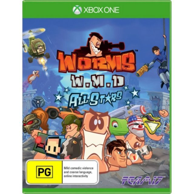 Worms WMD All-Stars