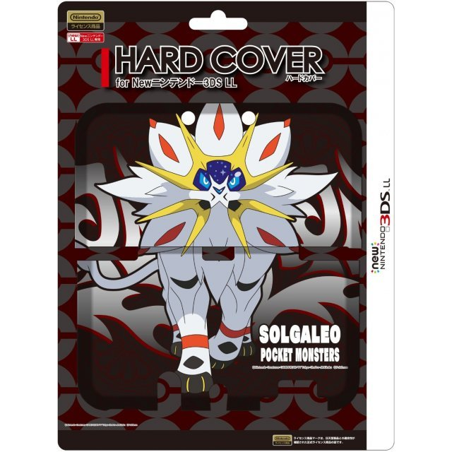 Pocket Monster Hard Cover for New 3DS LL (Solgaleo)