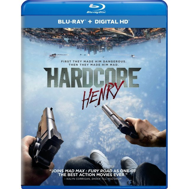 Hardcore Henry [Blu-ray+Digital HD]