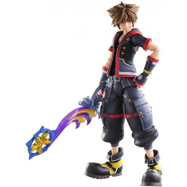 Sora Kingdom Hearts 1520074: Kingdom Hearts III Play Arts Kai: Sora