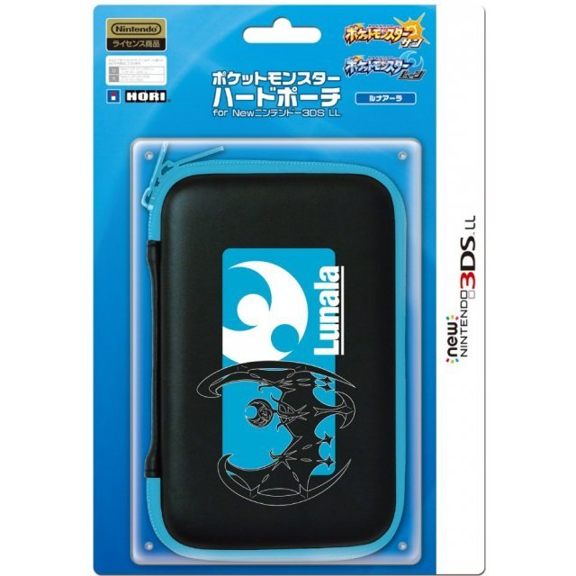 Pocket Monster Hard Pouch for New 3DS LL (Lunala)