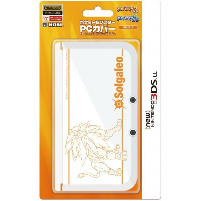 Pocket Monster PC Cover for New 3DS LL (Solgaleo)