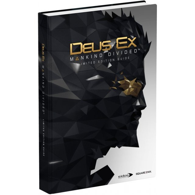 Deus Ex: Mankind Divided - Limited Edition Guide (Hardcover)