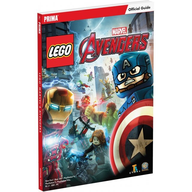 LEGO Marvel's Avengers Official Strategy Guide (Paperback)