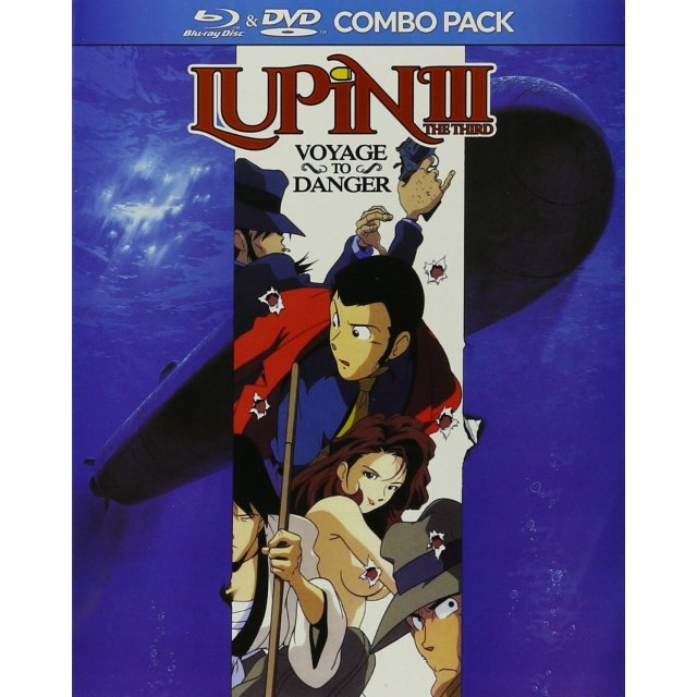 Lupin The III: Voyage To Danger [Blu-ray+DVD]