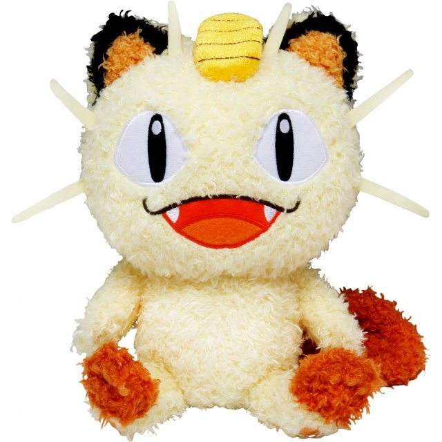 Pokemon Mokomoko Plush: Meowth