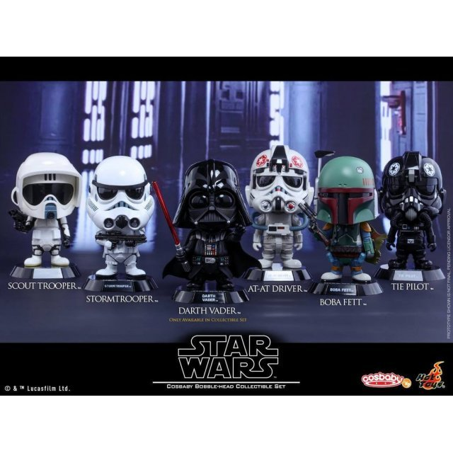 Star Wars Cosbaby Bobble-Head Collectible Set (Set of 6 pieces)