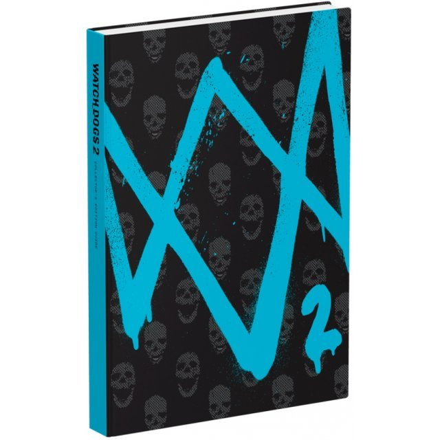 Watch Dogs 2 Collector's Edition Strategy Guide (Hardcover)