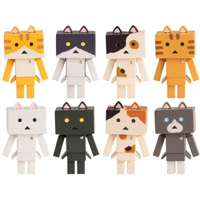 Yotsuba&! Trading Mini Figure: Nyanboard Nyano (Set of 10 pieces)