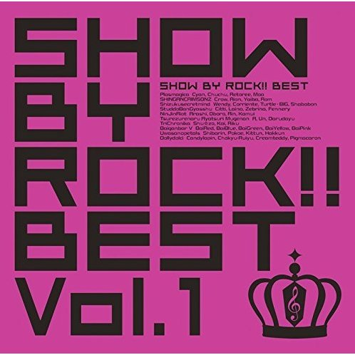 Show By Rock!! Best Vol.1 [2CD+DVD]