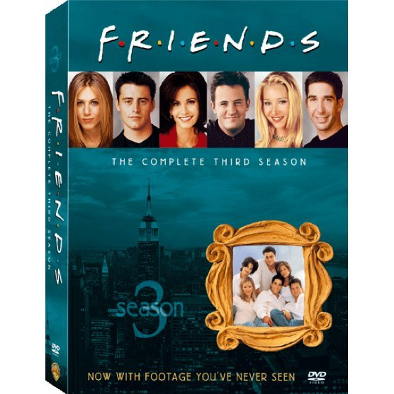 Friends Season 3 [3DVD]