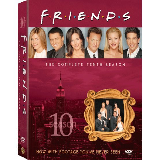 Friends Season 10 [4DVD]