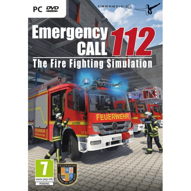 Emergency Call 112: The Fire Fighting Simulation (DVD-ROM)