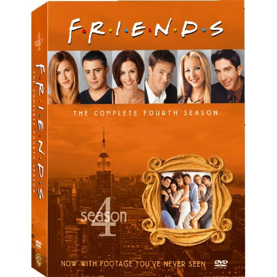 Friends Season 4 [4DVD]