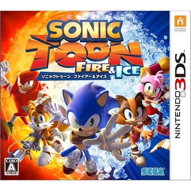 Sonic Toon Fire & Ice [25th Anniversary Set]