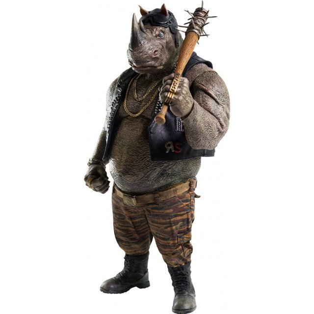 Teenage Mutant Ninja Turtles Out of the Shadows 1/6 Scale Pre-Painted Figure: Rocksteady