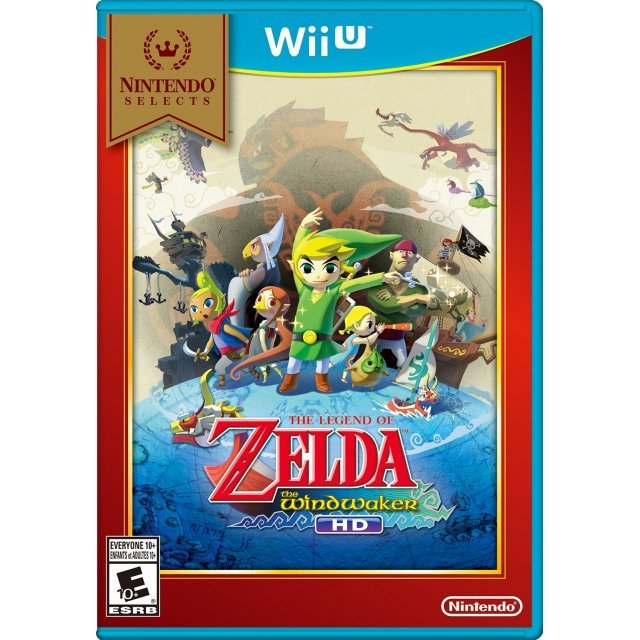 The Legend of Zelda: The Wind Waker HD (Nintendo Selects)