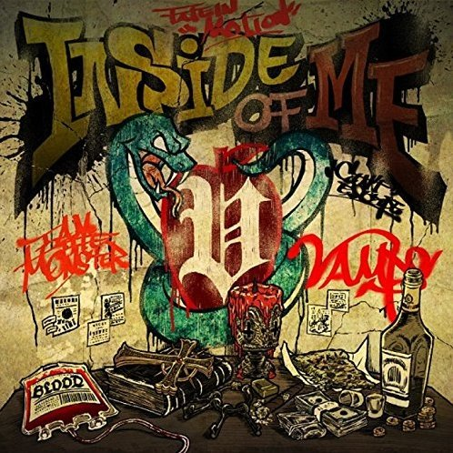 Inside Of Me Feat. Chris Motionless Of Motionless In White [CD+DVD Limited Edition Type A]