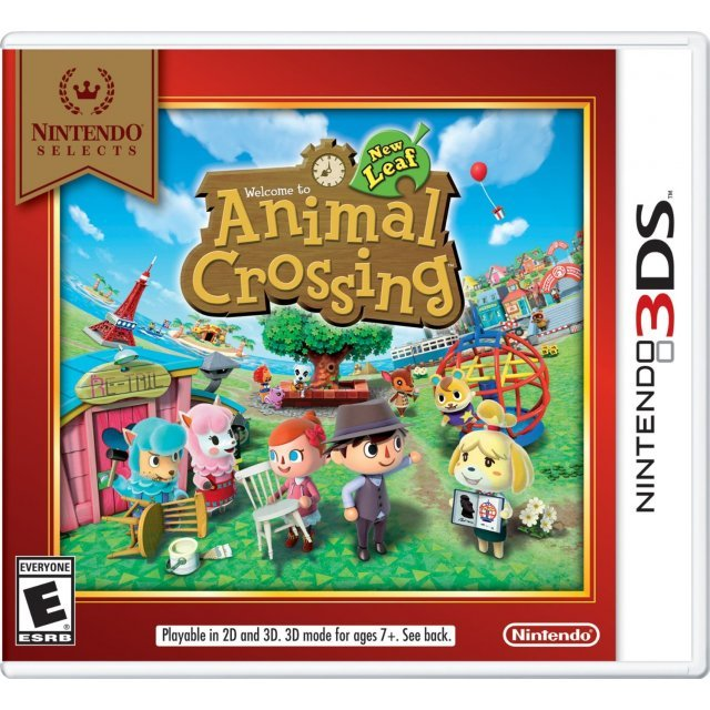 Animal Crossing: New Leaf (Nintendo Selects)