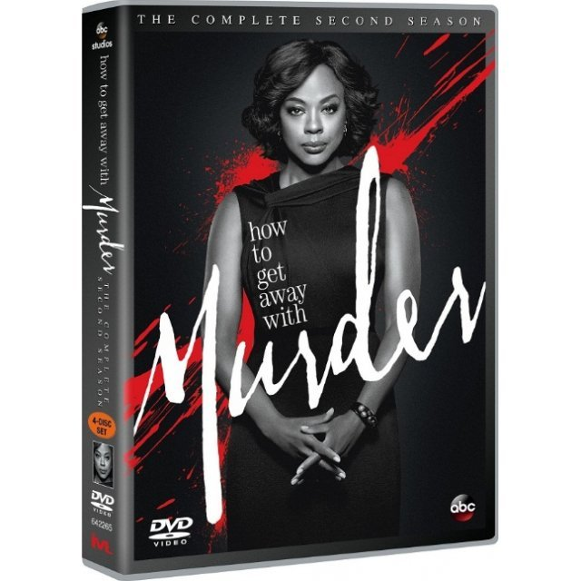 How To Get Away With Murder Season 2 [4DVD]
