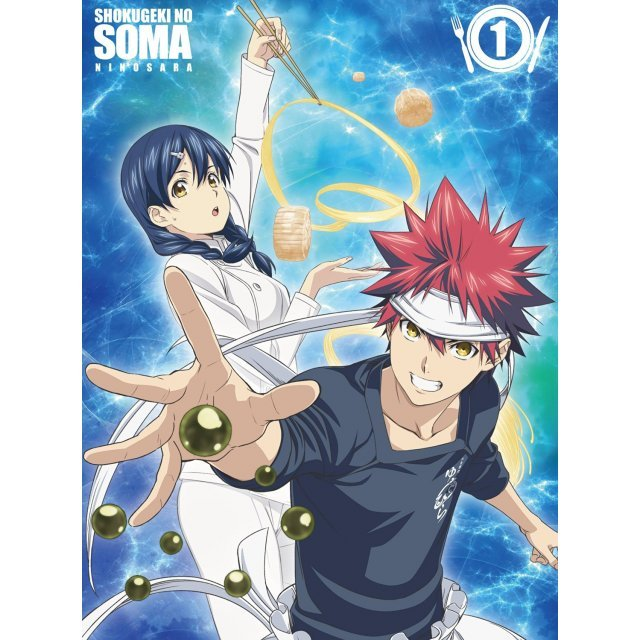 Food Wars! Shokugeki No Soma: The Second Plate 1 [Limited Edition]