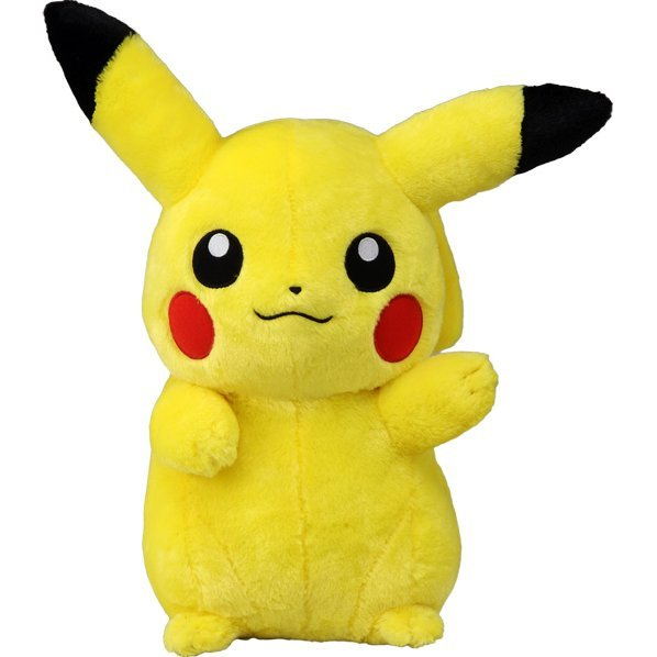 Pokemon 1/1 Scale Plush: Pikachu (Re-run)