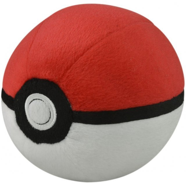 Pokemon Plush: Soft Monster Ball M / Poke Ball (Re-run)
