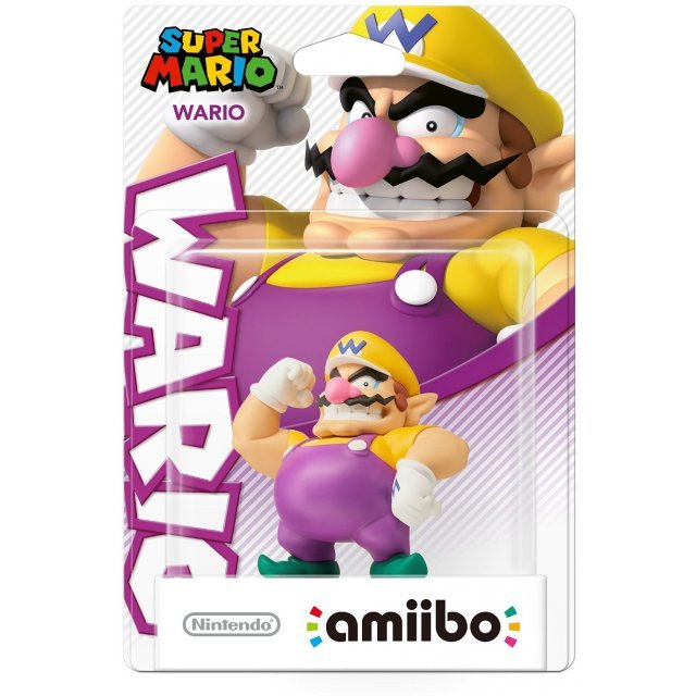 amiibo Super Mario Collection Figure (Wario)