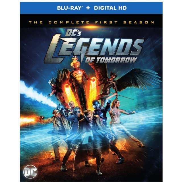 DC's Legends Of Tomorrow: The Complete First Season [Blu-ray+Digital HD]