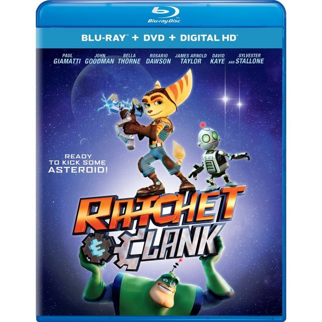 Ratchet And Clank [Blu-ray+DVD+Digital HD]