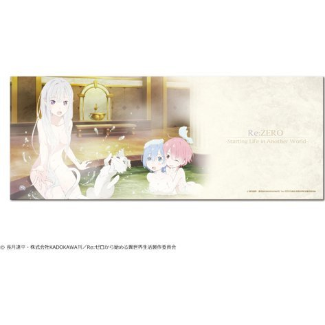 Re:Zero -Starting Life in Another World- Microfiber Face Towel 01