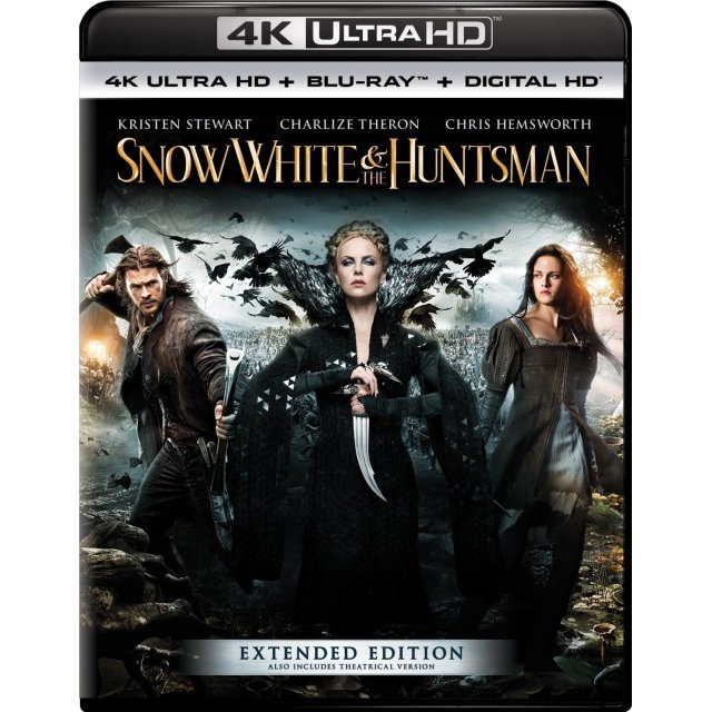 Snow White And The Huntsman (Extend Edition) [4K UHD Blu-ray]