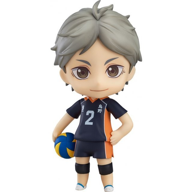 Nendoroid No. 665 Haikyu!! Karasuno High vs Shiratorizawa Academy: Koushi Sugawara