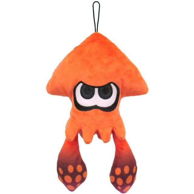 Splatoon All Star Collection Plush: Orange Splatoon Squid (S)