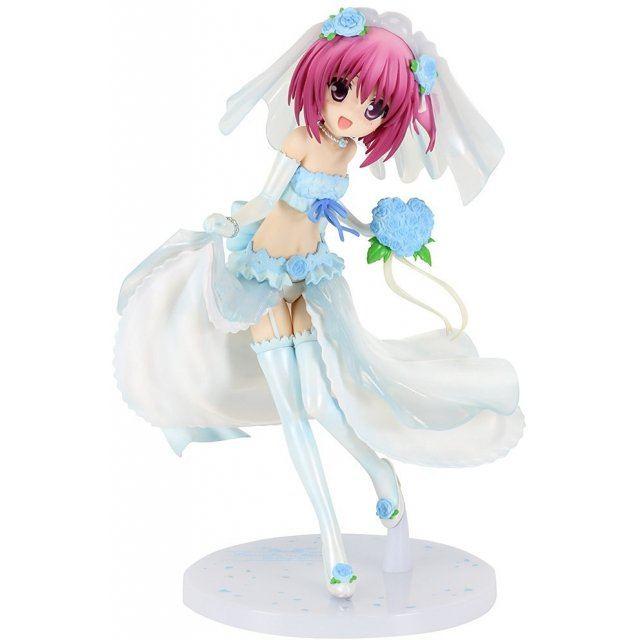 Ro-Kyu-Bu! SS 1/7 Scale Pre-Painted Figure: Minato Tomoka Blue Wedding Ver.