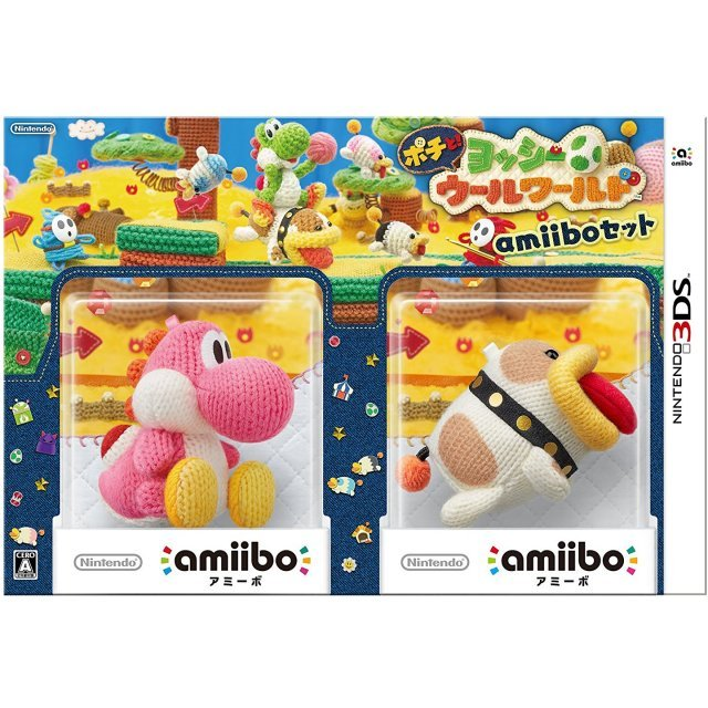 Poochy and Yoshi's Woolly World [amiibo Set]