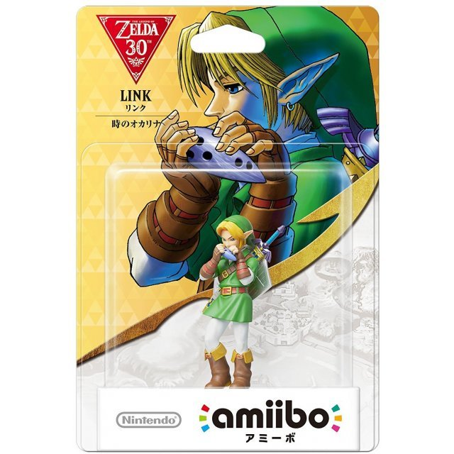 amiibo The Legend of Zelda Series Figure (Link Toki no Ocarina)
