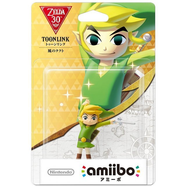 amiibo The Legend of Zelda Series Figure (Toon Link Kaze no Takuto)