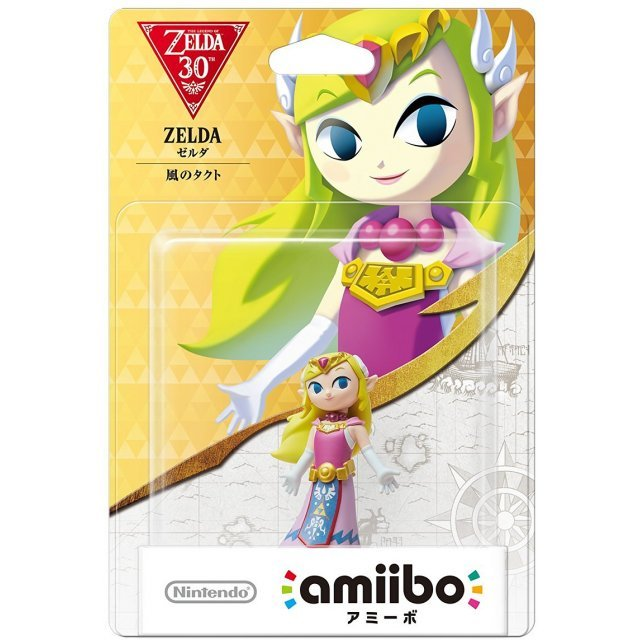 amiibo The Legend of Zelda Series Figure (Zelda Kaze no Takuto)
