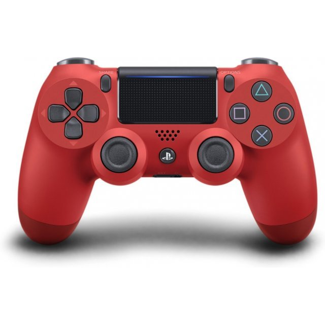 New DualShock 4 CUH-ZCT2 Series (Magma Red)