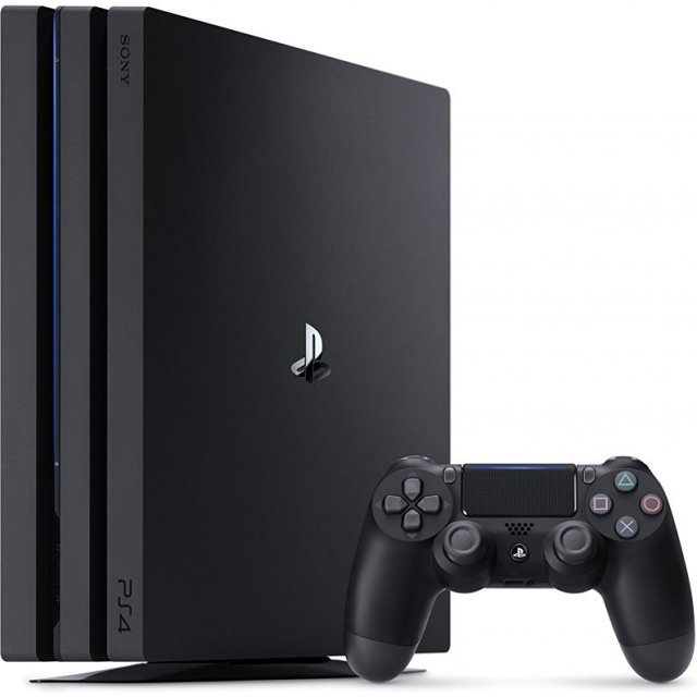 PlayStation 4 Pro CUH-7100 Series 1TB HDD (Jet Black)