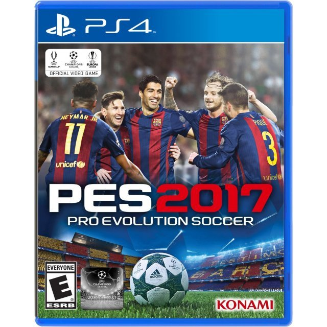 Pro Evolution Soccer 2017 [Steelbook Edition] (Multi-Language)