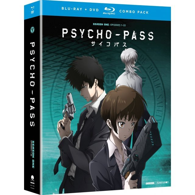 Psycho-Pass - Season One [Blu-ray+DVD]