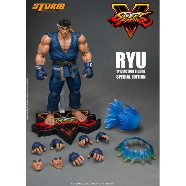 Street Fighter V 1/12 Scale Pre-Painted Action Figure: Ryu Special Color Ver.